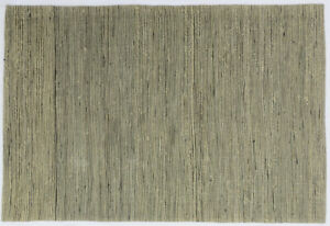 Ashikavin Hemp Carpet (Beige/Black,5.3 X 7.6 FT)