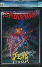 Spider-Man: Fear Itself #1 CGC 9.4 Marvel 1992 Graphic Novel #nn Stan Lee G11 cm