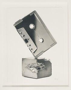 CJ Hendry Bronzed Trophies Series Cassette 2016 Exclusive Original Art