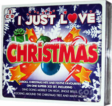Christmas Selection 3 CD of Traditional Xmas Songs Festive Music Collection NEW