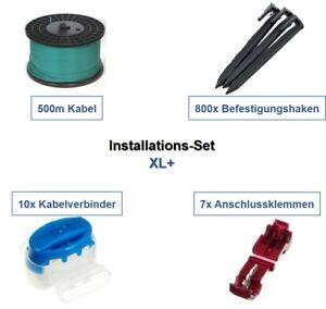 Installation Set XL+ Husqvarna Automower 4** 5** Kabel Haken Verbinder Paket Kit
