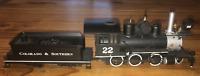 Bachmann Spectrum Colorado & Southern 2-6-0 Locomotive #22 W/Tender On30 Scale