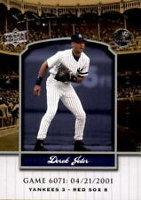 2008 Upper Deck Yankee Stadium Legacy Collection #6071 Derek Jeter (REF 19090)