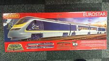 "RARE HORNBY R1176 ""EUROSTAR"" Electric Train Set DCC Ready NEW"