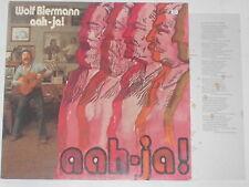 WOLF BIERMANN -Aah-Ja!- LP