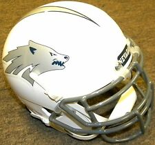 Nevada Wolfpack #13 White NCAA College Football Schutt Authentic Mini Helmet