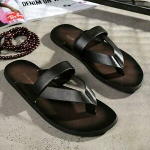 Mens Summer Beach Anti-Slip Slippers Outdoor Casual Sandals Strap Shoes Slides