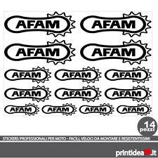 FOGLIO ADESIVO AFAM STICKERS ADESIVI NERO BLACK KIT - (50X50 CM CIRCA)