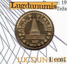 Slovénie 2007 - 10 Centimes D'Euro FDC provenant du coffret 100000 exemplaires