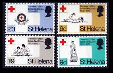 St Helena 1970 MNH 4v, Medicine, Red Cross First Aid, Mouth to Mouth Respiration