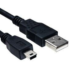 Mini USB 2.0 Male A to B 1m Charge Cable Lead for PSP PC Camera Hard Drive PS3