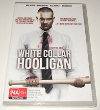 White Collar Hooligan (DVD, 2013) new, sealed