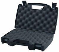 High-Desert 10200 Plastic Single Pistol Handgun Hard Resin Case, Lockable, Black