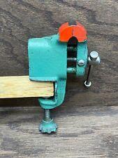 Vintage Clamp On Vise 15 Bench Table Vise Hobby Jeweler Vise Japan