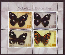 Timbres d'Australie et d'Océanie, sur papillons