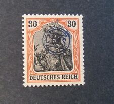 """GERMANIA,GERMANY D.REICH PLEBISCITO 1920 OVP """" C.I.H.S."""" 30 c. MH RARE Signed"""