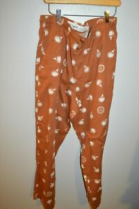 LIFE IS GOOD BURNT ORANGE GOLF TEE pj pajama pants Mens large