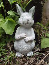 """Latex rabbit  mold 7.5"""" x  3 """" plaster cement concrete mould"""
