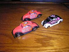Nice Lot of 3 RC Racing Champions '37 1937 ford Chopped Top Coupes Free Shipping