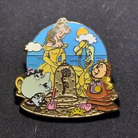 HKDL Beauty and The Beast Belle Rose at the Beach Disney Pin 88805