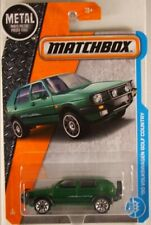 MATCHBOX #4 '90 VW Golf Country - first plain green colour (NEW in BLISTER)