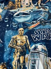 Vintage 70s 80s Star Wars Twin Fitted Sheet