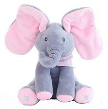 Peek A Boo Singing Plush Elephant