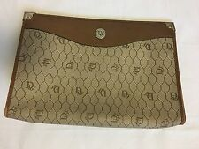 1970's Vintage Christian Dior Clutch Cosmetic Bag