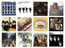 MINIATURE 1/12 Non Playable VINYL RECORD ALBUMS - BEATLES - UK TITLES VARIOUS