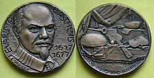 MEDAGLIONE CIRCOLO NUMISMATICO BERGAMASCO 1977 EVARISTO BASCHENIS - E. VARISCO