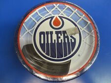 "Edmonton Oilers NHL Pro Hockey Sports Banquet Party 9"" Paper Dinner Plates"