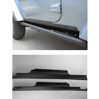EFLE Door Sill Rocker Panel Trail Armor Guard For 07-15 Jeep Wrangler JK 2 Doors