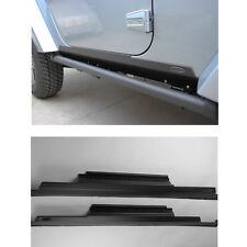 EFLE Door Sill Rocker Panel Trail Armor Guard For 07-15 Jeep Wrangler JK 2 Doors