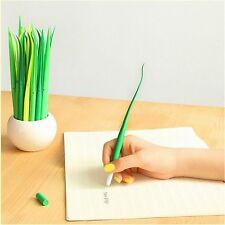 Creative Grass Roller Ball Pen/Gel Pens-0.38 mm Black ink Stationery1pc