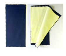 X-LARGE Best Gold/Silver Polishing Cloth Jewelry Cleaning Cloth-Premium Qty