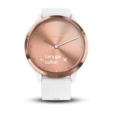 * Nuevo * Reloj inteligente Garmin vivomove HR híbrido * Regalo * Rose Gold-Monitor de frecuencia cardíaca