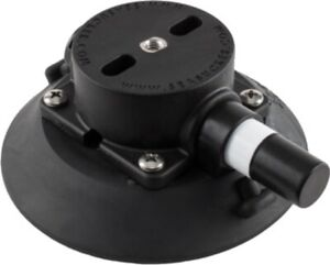 114 mm SeaSucker Black Vacuum Mount - Mount anything WITHOUT Drilling Holes