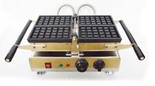 INTBUYING 2pcs Nonstick Waffle Iron Machine Square Belgian Baker Maker 110V