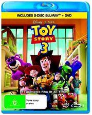 Disney-PIXAR TOY STORY 3 New Blu-Ray (2 Disc) + DVD TOM HANKS ***