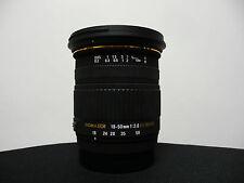 Sigma 18-50/2,8 EX DC Macro für Sony A