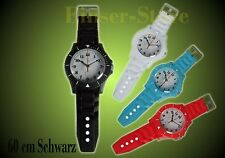 Like Ice Watch Wall Clock Black 60cm + Battery Children's