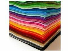 EduKit Acrylic Felt Sheets  60 pc A4 Felt Fabric Lot in 15 Assorted Colors for