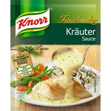 Ten (10) Bags Knorr Gourmet Sauce with Herbs New