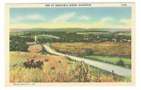 One Of Missouri Scenic Highways Unused Vintage Postcard E116