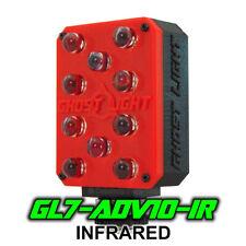 Ghost Light GL7-ADV IR Infrared LED Night Vision Camera Light Paranormal - Red -