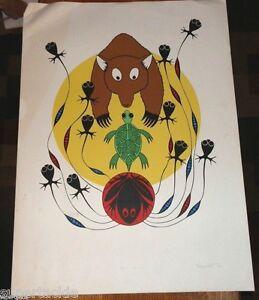 Grand Chief Derricksan • Toussowasket Okanogan Bear Spirit signed Ltd Ed print
