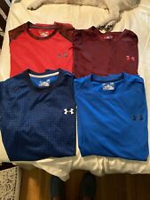 Lot of 4 Under Armour Shirts - Large