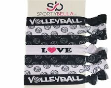 Volleyball Hair Accessories - Volleyball Hair Ties - Volleybal Hair Elastics Set