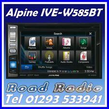 Alpine IVE-W585BT Double Din Car Headunit Stereo DVD CD USB Bluetooth iPhone