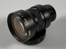 RCA 8mm f1.6 C-mount TV lens - Free Shipping!